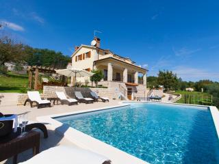 Lounge by the pool and enjoy an amazing view from this stunning villa - Sveti Petar u Sumi vacation rentals