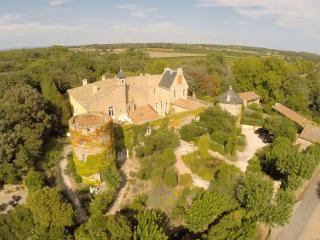 Charming apartment in mediterranean castle tower - Servian vacation rentals