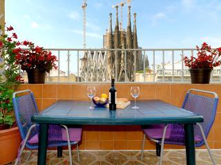Spectacular views of the Sagrada Familia - Cabrera de Mar vacation rentals