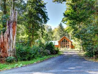 Wy' East Log Lodge - Rhododendron vacation rentals