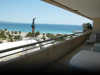 First line on the beach2 bedrooms in Puerto Banus - Marbella vacation rentals