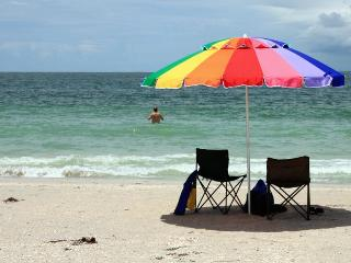 DIRECTLY ON THE BEACH - Corner CONDO private owner - Treasure Island vacation rentals