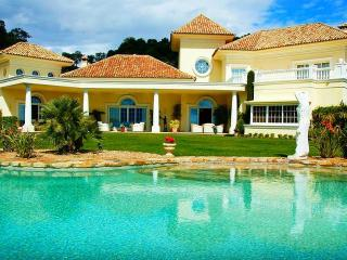 Luxury villa with private pool and stunning views - Cancelada vacation rentals