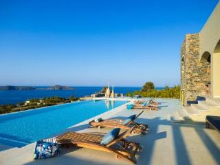 Peaceful & Relaxing! Modern Grape Villa has Pool & Panoramic Views - Elounda vacation rentals