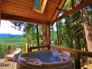 Cozy Couple's Retreat at the Das Tree Haus 25 mins from Leavenworth Village. - Leavenworth vacation rentals