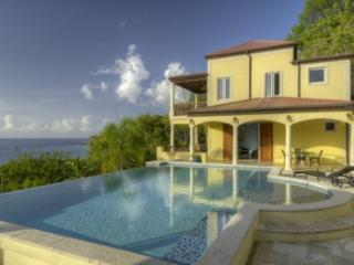 4 Bedroom Villa with Pool & Ocean View in Smugglers Cove - West End vacation rentals
