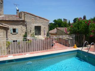 Maison du Rocher, near Uzes. - Saint-Siffret vacation rentals