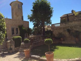 Chateau de Goult, Gordes, Rental in Unique Setting with a Pool and Fireplace - Goult vacation rentals