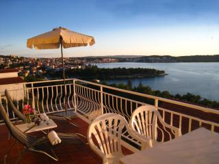 Big Private Balcony with grate sea view! Trogir A2 - Trogir vacation rentals