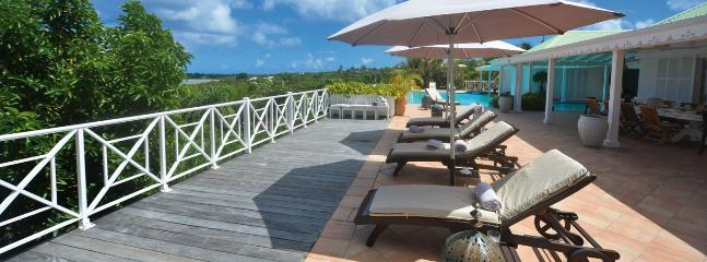 SPECIAL OFFER: St. Martin Villa 101 Located Close To La Samanna Hotel Giving Lovely Views Over Baie Longue And The Caribbean Sea. - Image 1 - Terres Basses - rentals