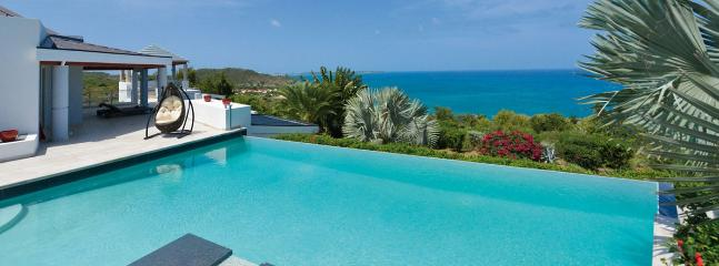 SPECIAL OFFER: St. Martin Villa 102 With An Incredible Over Sized Infinity Styled Pool And Spectacular Views Of The Ocean. - Image 1 - World - rentals