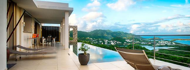 SPECIAL OFFER: St. Martin Villa 109 Brand New, Ultra Modern 3 Bedroom Villa Situated In The Heights Of Orient Bay With A Spectacular Sunrise Ocean View. - Image 1 - Orient Bay - rentals