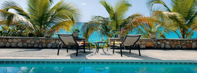 SPECIAL OFFER: St. Martin Villa 117 The Large Swimming Pool Is A Wonderful Place To Relax And Spend The Day Lounging. - Terres Basses vacation rentals
