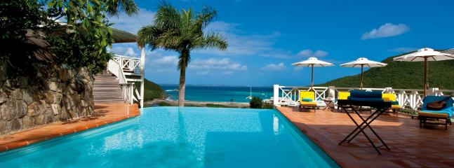 St. Martin Villa 120 Surrounded By Lush Tropical Vegetation The Villa Has A Large Infinity Pool, A Spacious Terrace And A Charming Gazebo Built Into The Hillside. - Image 1 - World - rentals