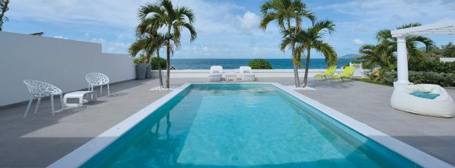 Villa La Perla Bianca SPECIAL OFFER: St. Martin Villa 134 Modern With All The Amenities The Villa Has A Large Pool And Terrace With Un-obstructed View Of The Ocean. - Baie Rouge vacation rentals
