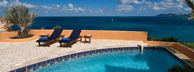 SPECIAL OFFER: St. Martin Villa 145 Set In Beautiful Gardens, This Villa Has A Plunge Pool And Terrace, Rooftop Sundeck And Flowered Courtyard. - Image 1 - Terres Basses - rentals