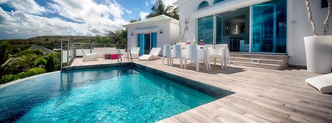 SPECIAL OFFER: St. Martin Villa 152 A Lovely Sun Deck And Plunge Pool With Modern Luminous Patio Furniture. Enjoy A Fabulous View Over Orient Bay Beach. - Orient Bay vacation rentals