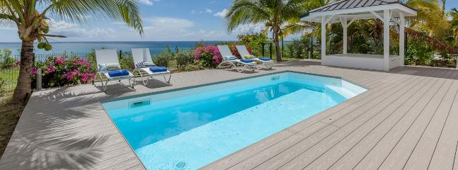 St. Martin Villa 176 Nestled In The Hill Side, Sea Dream Will Enchant You With Its Wonderful Ocean And Sunset Views. - La Savane vacation rentals
