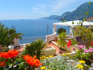 Terrazza magnificent villa in Positano parking - Positano vacation rentals