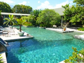 Spacious 4 bedroom villa with large swimming pool  and private bungalow - French Polynesia vacation rentals
