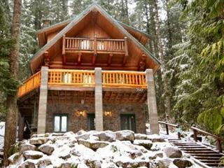 Snowline Cabin #47 - A rustic vacation home with modern charm with a Private outdoor hot tub. - Glacier vacation rentals