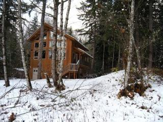 Glacier Springs Cabin #40 - A pet friendly cedar cabin with a hot tub and game room! - Glacier vacation rentals