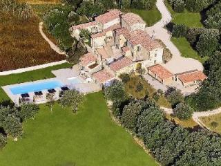 A Provencal Masterpiece! Villa Les Cavaliers features Saltwater Pools, Tennis Court & more! - Gard vacation rentals