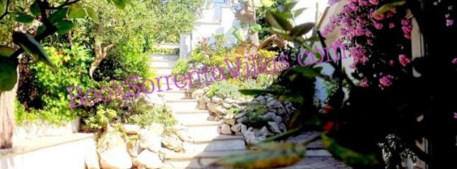 VILLA ULISSE 1 (NEW) - SORRENTO PENINSULA - Sant'Agata Sui Due Golfi - Image 1 - Sant'Agata sui Due Golfi - rentals