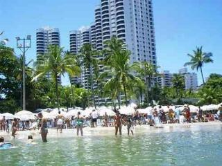 Beachfront - Gorgeous Apartment Condominium Tortug - Guaruja vacation rentals