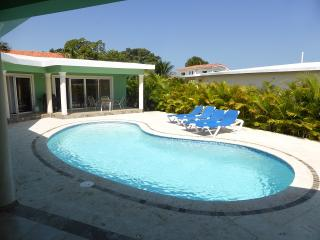 Relax or entertain in this three bdrm;3-1/2 bath with TVs in every bedroom.(626A) - Cabarete vacation rentals