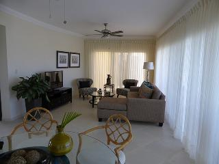 Elegantly-decorated 3-bdrm/3 full and 2 half baths; TV in every bedroom, dishwasher, refreshing breeze from the terrace every day; 11,000 gal kidney-shaped pool with a fabulous view. Families and Couples only.(719) - Cabarete vacation rentals