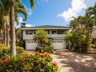 Daydream Believer, Spacious 4-bedroom home in Poipu, lovely yard, lanai with BBQ, short walk to beaches. Sleeps 15 - Poipu vacation rentals