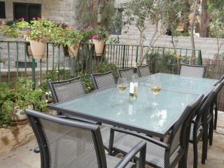 Pesach Special Rechavia 3 BR Garden Apartment - Israel vacation rentals