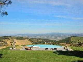 Hilltop Villa Monti with a library, billiard room, fireplace and pool house - San Venanzo vacation rentals