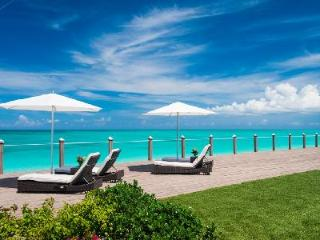 Stunning Beachfront Conch Villa with Pool, Staff & Magnificent Ocean View - Grace Bay vacation rentals