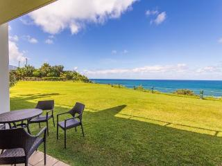 Free Car* with Puu Poa 105 - Luxury 2 bed/2 bath condo with dramatic ocean views and designer interior! Heated Pool - Princeville vacation rentals