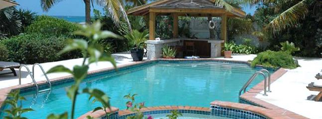 AVAILABLE CHRISTMAS & NEW YEARS: Anguilla Villa 109 Magnificent Freshwater Pool And Whirlpool With Waterfall Splash-over Rest Li - Anguilla vacation rentals