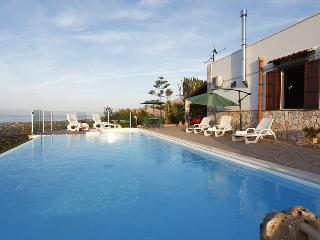 Villa del Poggio with pool and sea view - Trappeto vacation rentals