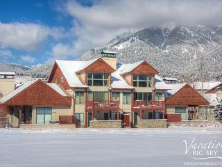 3BD Golf Course Front Condo in Heart of Meadow Village w/ Private Hot Tub - Big Sky vacation rentals