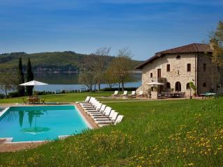 Villa on Private Peninsula with Stunning Lake View - Orvieto vacation rentals