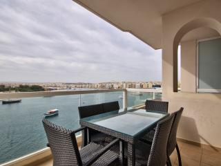 Astounding Views Tigne Seafront 4-bedroom Apt - Sliema vacation rentals