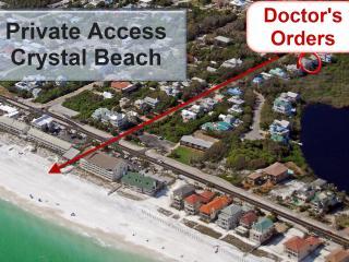 Doctors Order's Private Pool Walk to Beach Sleep14 - Destin vacation rentals