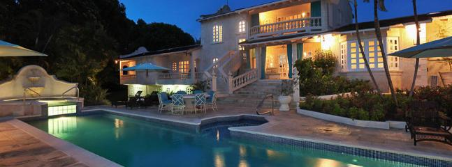 Villa Grendon House SPECIAL OFFER: Barbados Villa 237 Set In Large Beautifully Landscaped Gardens With An Enchanting Raised Jacuzzi And Plunge Pool. - Sandy Lane vacation rentals