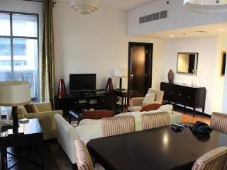 Spacious, modern one bedroom apartment at metro - United Arab Emirates vacation rentals