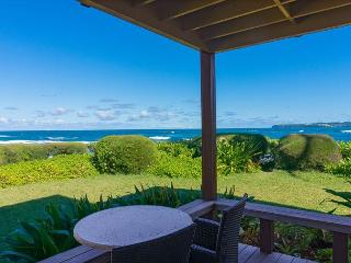 Hanalei Colony Resort - premium oceanfront unit 10 steps from the sand! - Princeville vacation rentals