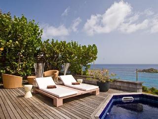 Attractive villa with open views over ocean & neighboring islands WV JPC - Gustavia vacation rentals