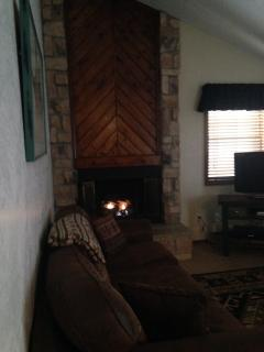 Gas Fire Place - Summer:  Book 3 nights get 4th FREE - Angel Fire - rentals