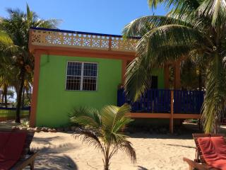 Beachfront Villa 2 BR, Coconut Row, Center Hopkins - Stann Creek vacation rentals