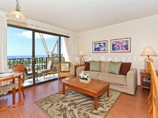 Secure one-bedroom with full kitchen, parking & ocean/sunset views! - Waikiki vacation rentals