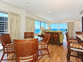 Panoramic Ocean Views Remodel-FREE Parking/WiFi, 2/2, AC, Washlet, Sleeps 6 - Waikiki vacation rentals